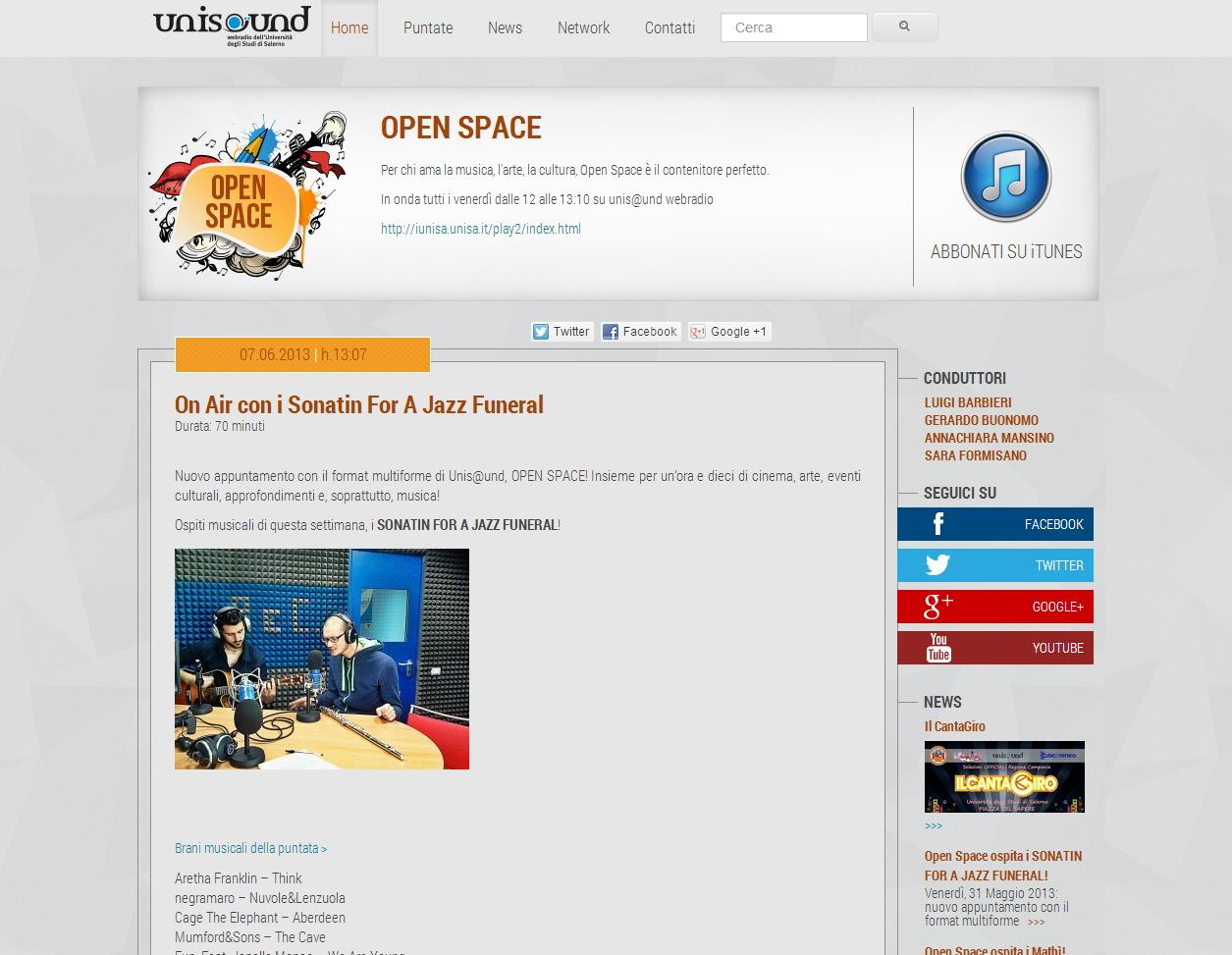 Open space - sviluppo web - Michele Settembre
