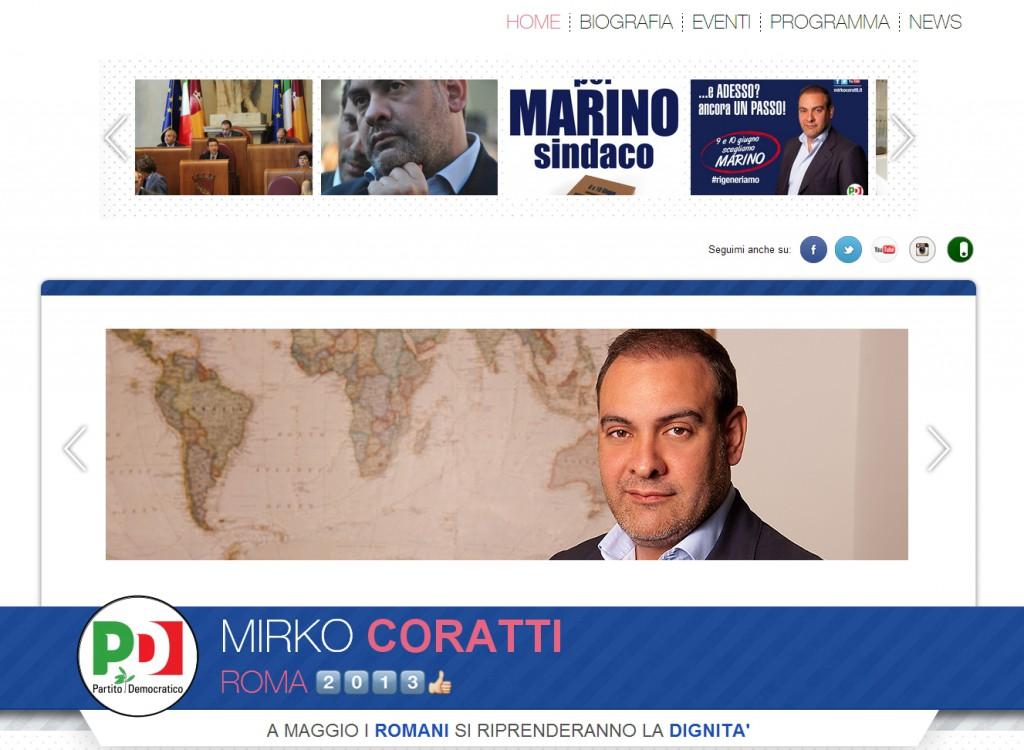 Mirko Coratti - sviluppo web - Michele Settembre
