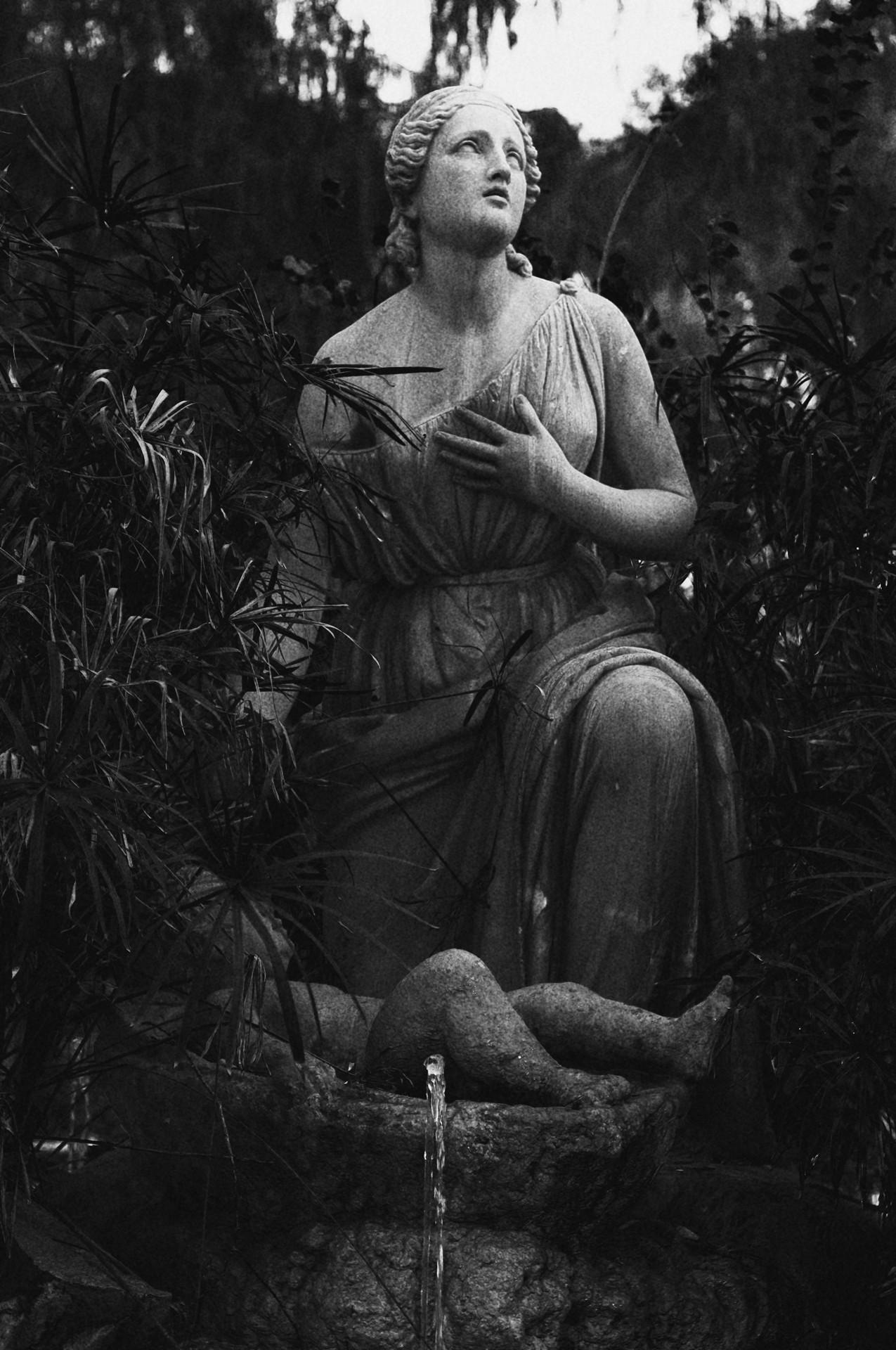 Una delle Statue di Villa Borghese - Michele Settembre - Fotografia in Roma
