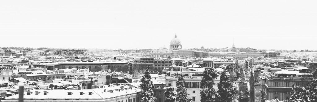 Fotografia in Roma - Nella Neve