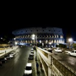 Roma di notte - Il Colosseo - Michele Settembre