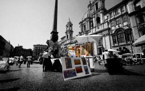 Fotografia in Roma - Gli artisti di Piazza Navona - Michele Settembre