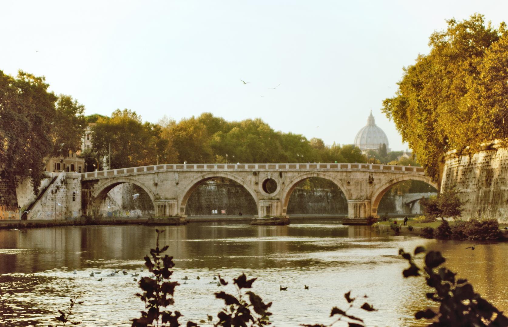Il Lungotevere, Il Ponte Sisto - Michele Settembre