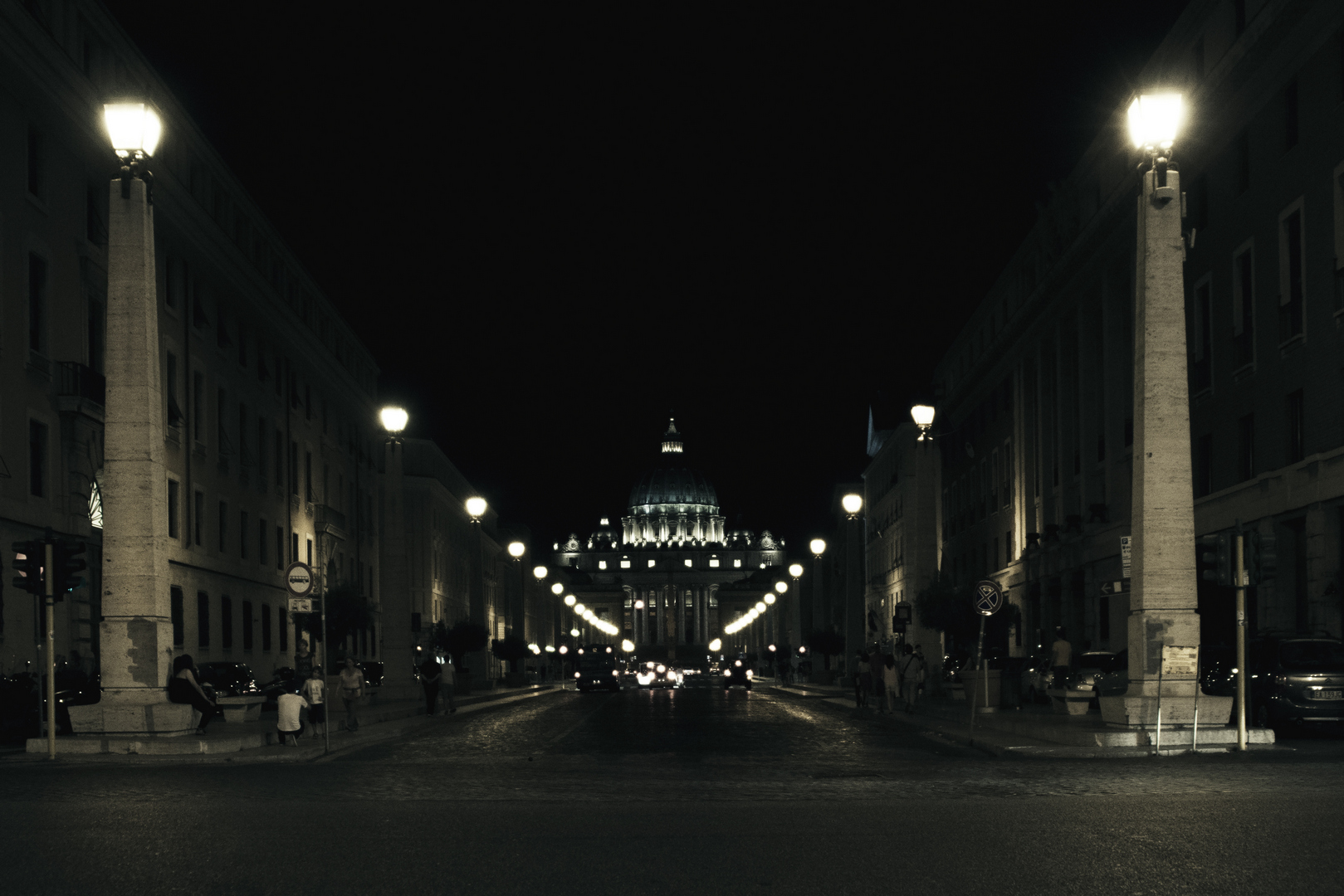 Fotografia in Roma - La città del Vaticano - Michele Settembre