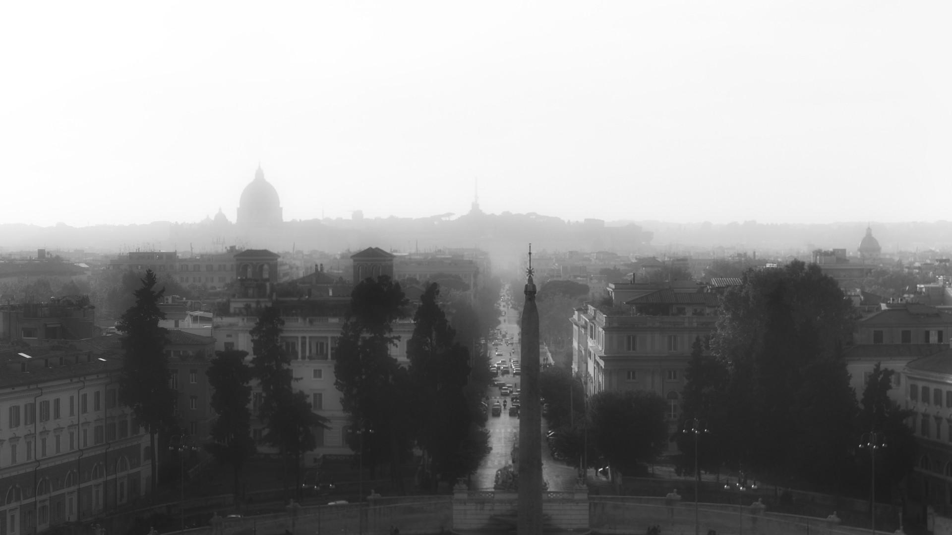 Roma dalla Terrazza del Pincio