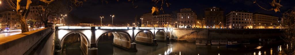 Roma - Panorama - Sul Lungotevere - Michele Settembre