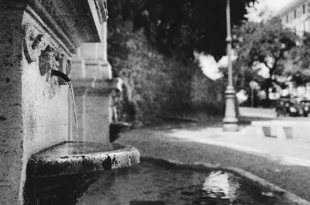 Fotografia in Roma - La fontanella di Trastevere - Michele Settembre