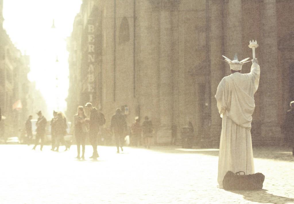 Fotografia in Roma - Piazza del Popolo ogni giorno - Michele Settembre
