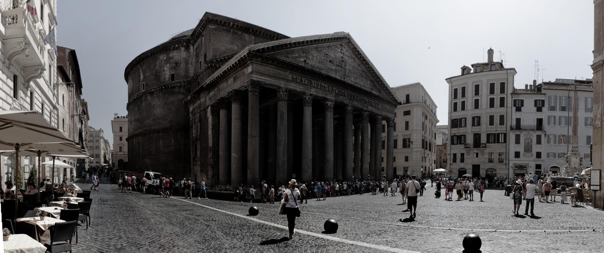 Panorama di Roma - Il Pantheon - Michele Settembre