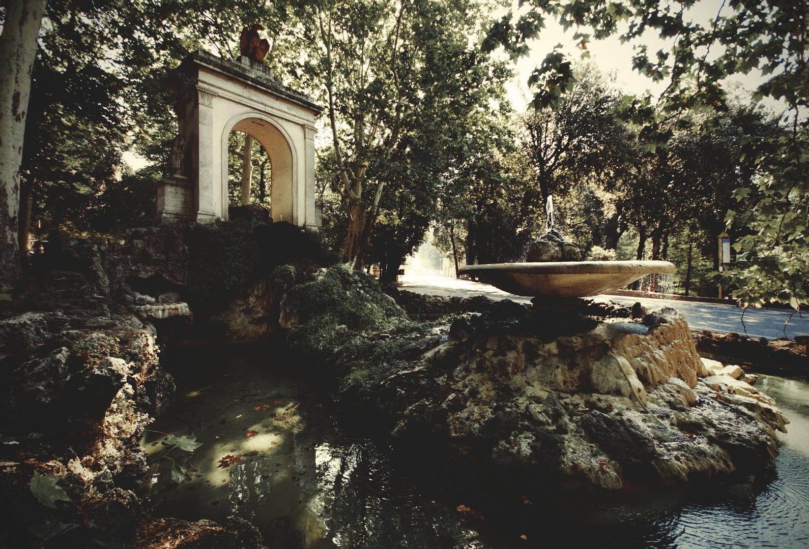 Fotografia in Roma - VIlla Borghese, le fontane - Michele Settembre