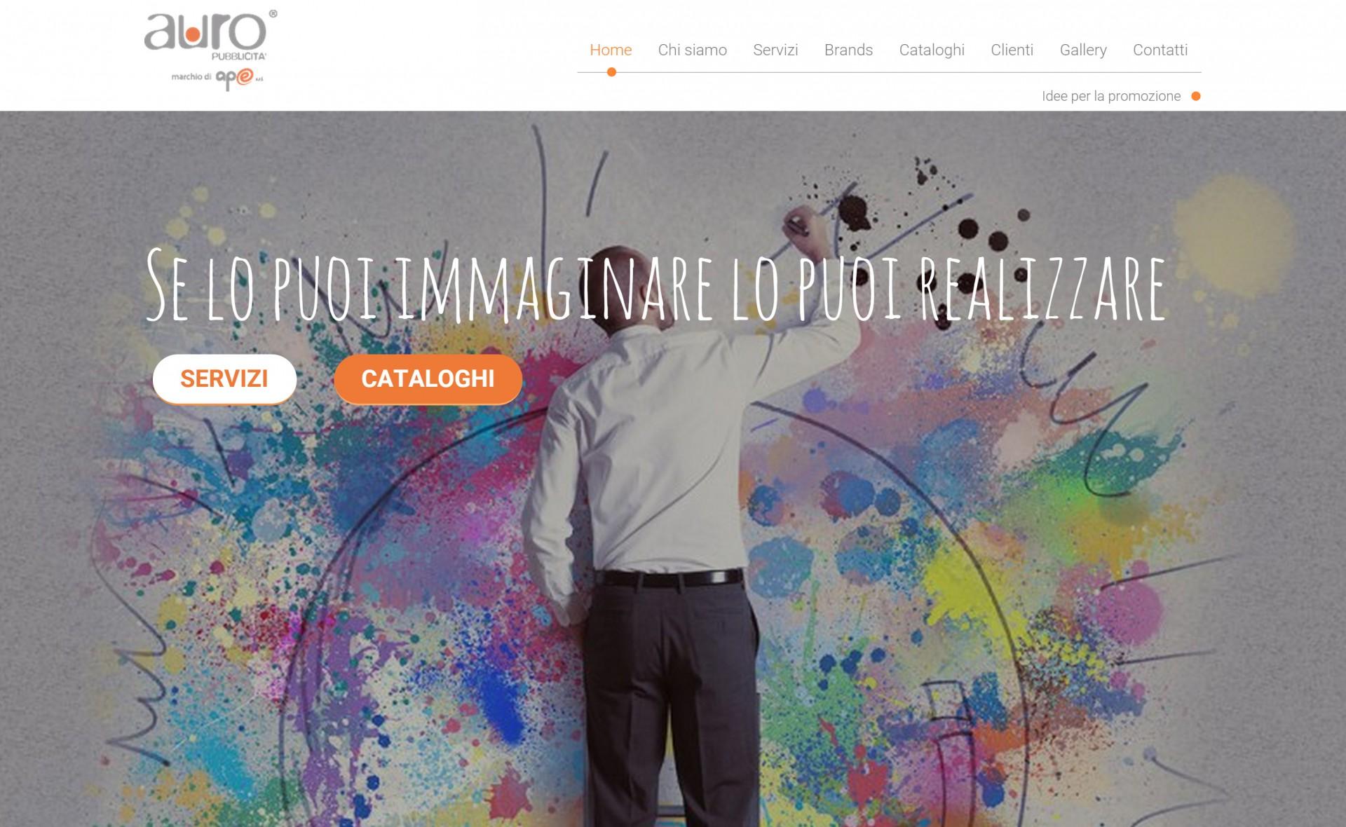 auro pubblicità - Lavoro web - Michele Settembre