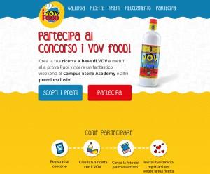 I VOV food - Ricette VOV - Sviluppo WEB - MIchele Settembre