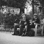 michele-settembre-fotografia-inghilterra-bianco-nero-orchestrina-parco