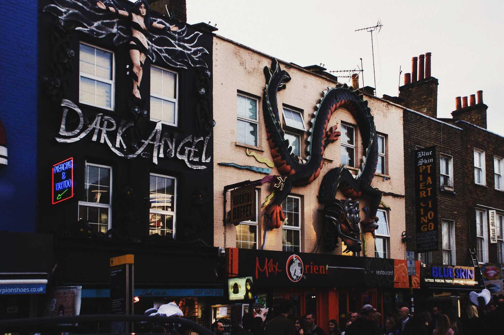 Michele Settembre Fotografia Londra Camden Town Negozi