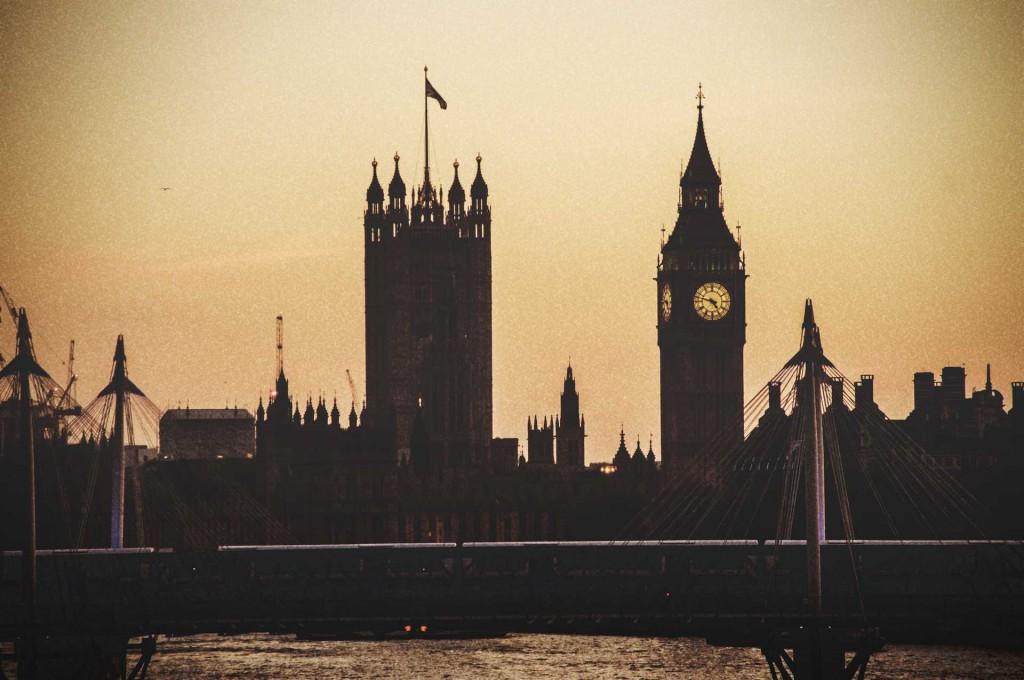 Michele Settembre - Inghilterra - Palazzo di Westminster sede del Parlamento