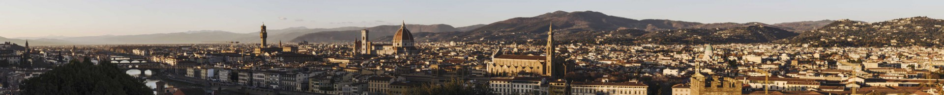 Michele Settembre - Fotografia in Firenze - Panorama da Piazzale Michelangelo
