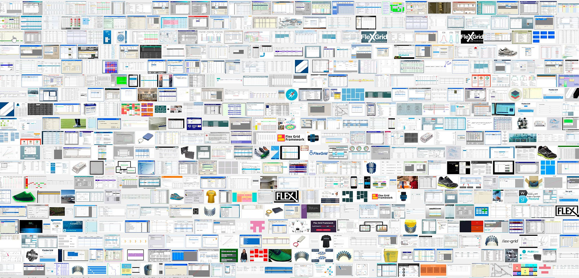 Michele Settembre - web work - flex grid