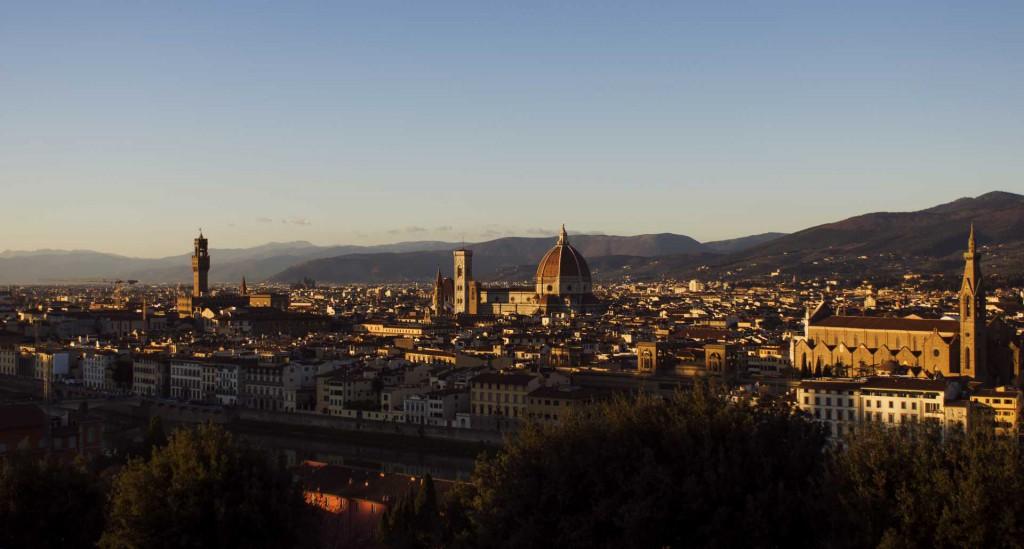 Michele Settembre - Fotografia in Firenze - UN vista meravigliosa dal Piazzale Michelangelo