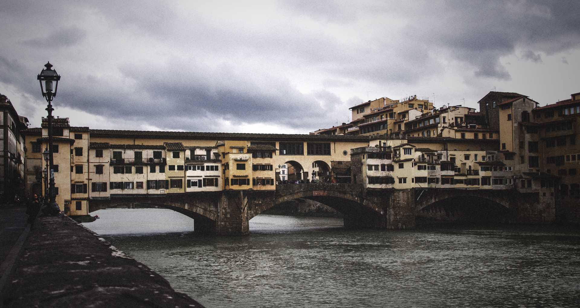 Michele Settembre - Fotografia in Firenze - Ponte Vecchio in un giorno di pioggia