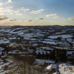 Michele Settembre - Todi innevata, panorama