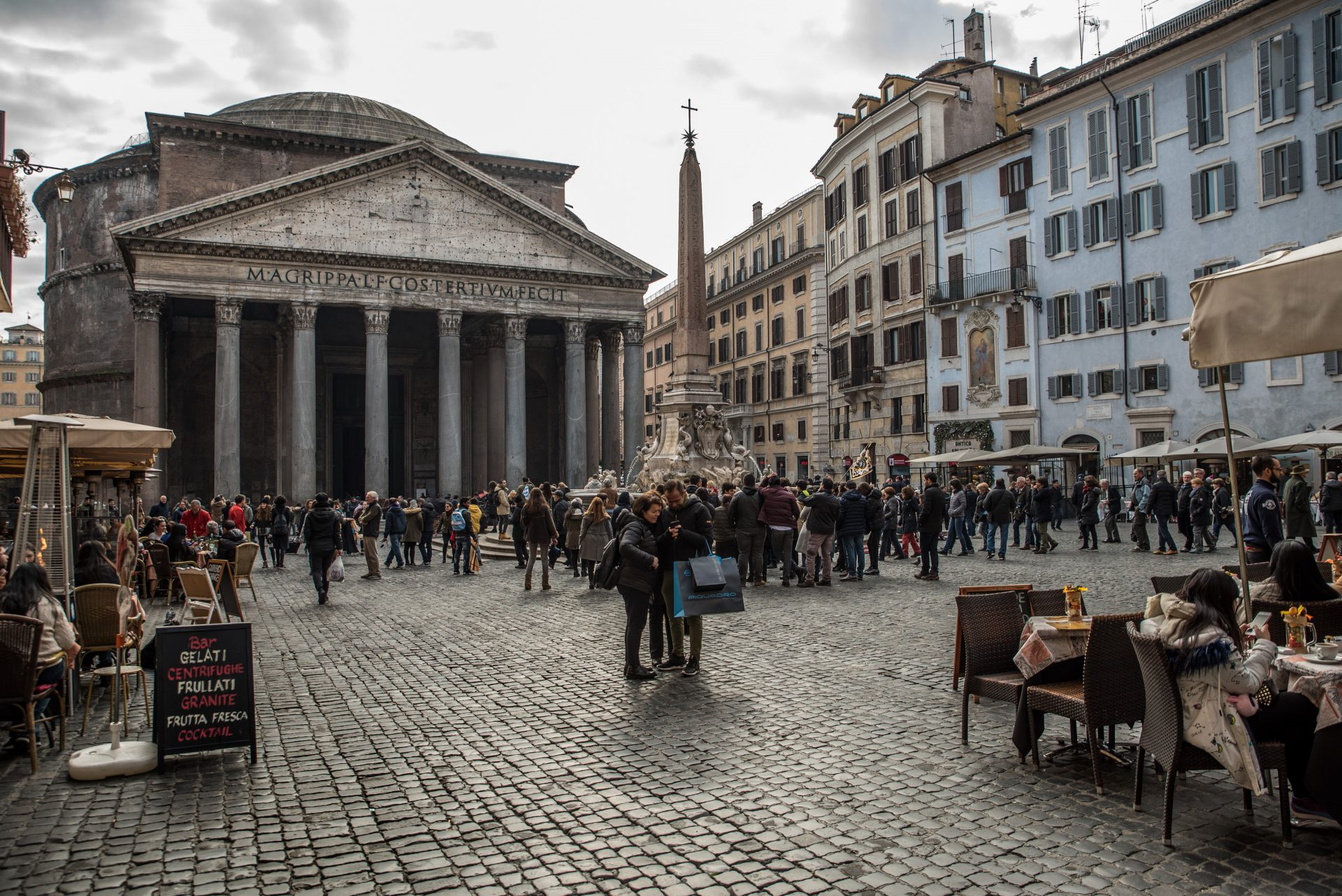 Michele Settembre - Fotografia in Roma - Il Pantheon